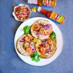 Tacos din fructe de mare