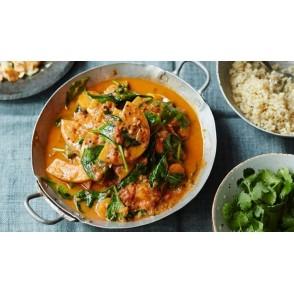 Curry cu lime, nuca de cocos si sirop Tamarind