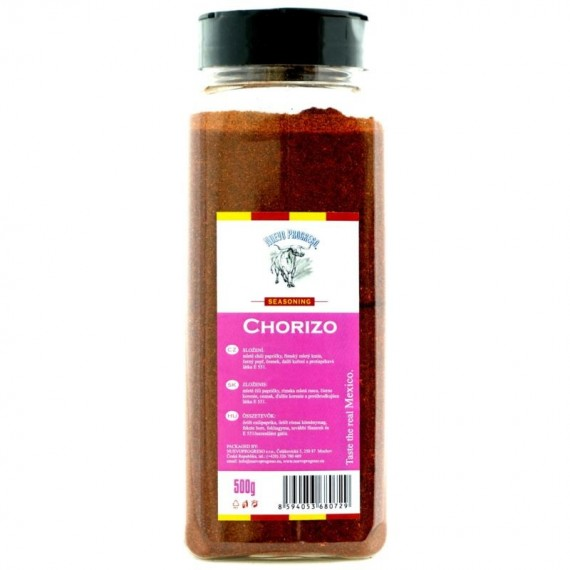 Chorizo spice mix 500 g