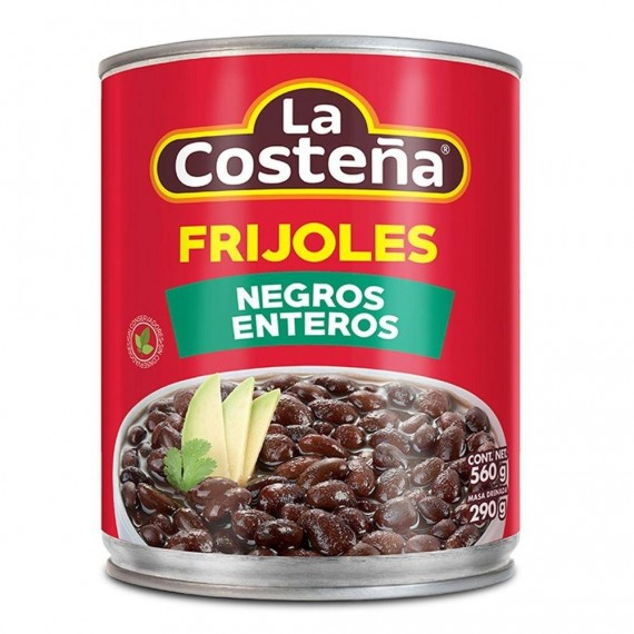 Fasole neagra fiarta (Black Beans Whole 560g)