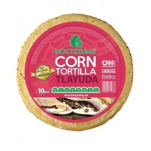 corn tortilla tlayuda